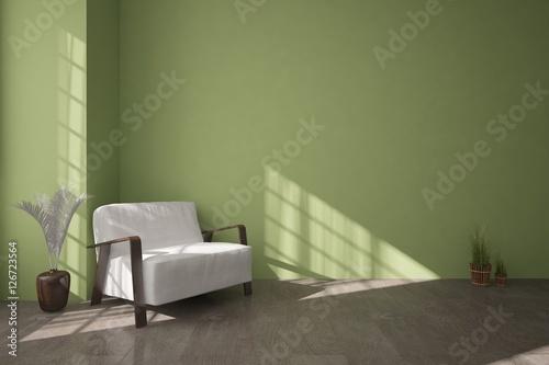 White modern interior design u kaufen sie diese illustration und