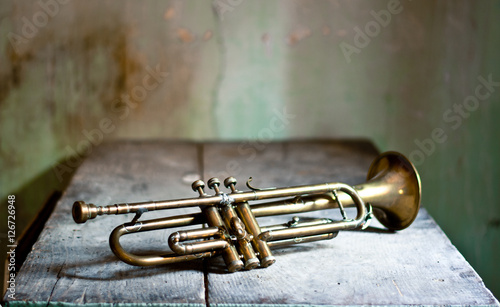 Slika na platnu Superb jazz trumpet 50s