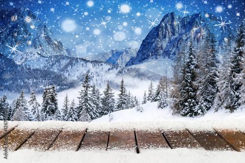 Foto Tapete Winter Weihnachten Fototapete Mit Eigenem Fotodruck