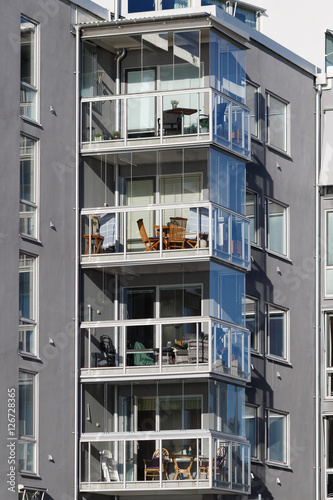 Beautiful Modern Apartments In Sweden Buy This Stock Photo And - Sleek-and-beautiful-apartment-in-sweden