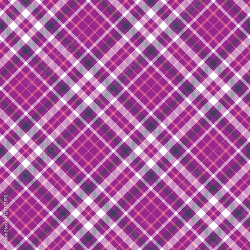 Seamless Tartan Plaid Pattern Vector Checkered Wallpaper Print Design In Pink Dark