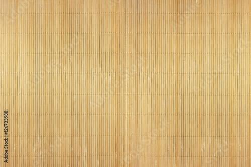 A fragment of bamboo mats