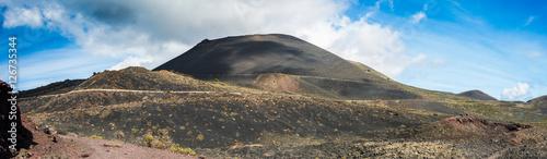 Spoed Foto op Canvas Noordzee Los Volcanes de Teneguía