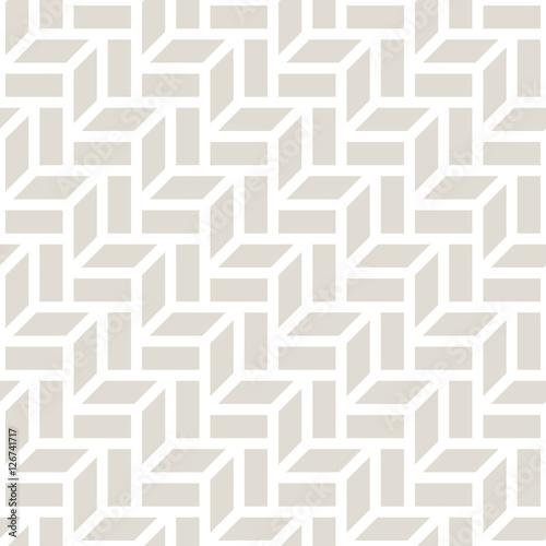 Naklejka dekoracyjna Abstrakcyjny geometryczny jasnopopielaty wzór