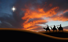 Reyes Magos, Navidad, Desierto...