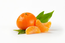 Tangerine With Separated Segme...