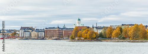 In de dag Scandinavië Helsinki city view