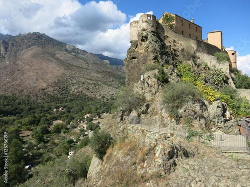 Fotografie, Obraz  Korsika Corte 27 Burg