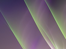 Abstract Purple Green Fractal