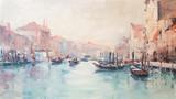 Obraz olejny sztuki Wenecja Włochy - 126783584