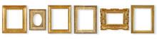 Set Antique, Gilded Frame