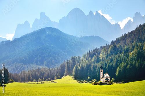 Photo  Funes Valley, Dolomites, Italy
