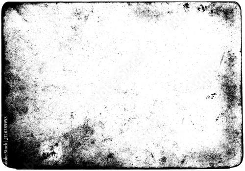 Zdjęcie XXL Streszczenie brudne lub starzenie się ramki. Pył cząsteczki i pyłu zbożowa tekstura na białym tle, brud narzuty lub parawanowy skutek używamy dla grunge tła i rocznika styl.