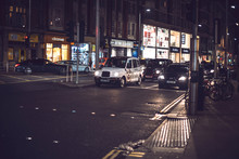 LONDON, UK - OCTOBER 14, 2016: Cars On The Street