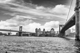 Fototapeta Bridge - Brooklin Bridge, NYC.