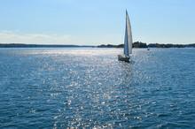 Yachts At 1000 Islands And Kin...