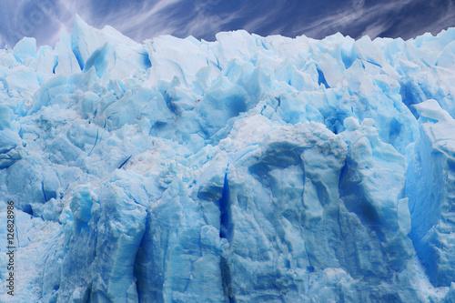 Foto op Aluminium Fantasie Landschap ice wall