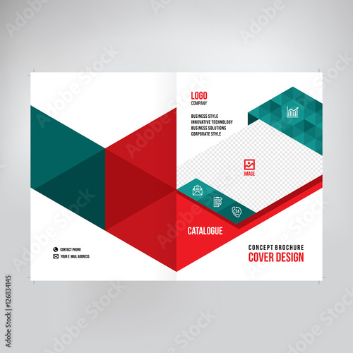 Catalogue cover design abstract graphic style business annual abstract graphic style business annual report design a4 template for accmission Gallery