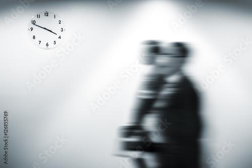 Fotografie, Obraz  Passage of time concept