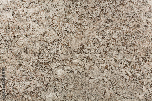 Stickers pour portes Marbre Beige and brown granite surface texture.