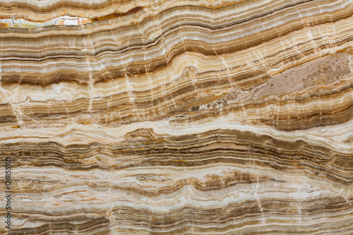 Recess Fitting Marble Onyx texture of natural stone, brown background.