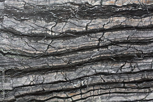 Canvas Prints Marble Abstract natural marble black and white background.