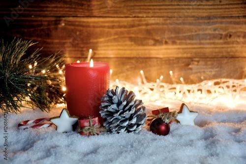 gru karte erster advent stimmungsvolle weihnachtszeit. Black Bedroom Furniture Sets. Home Design Ideas