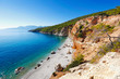 Chalikiada beach in Agistri island, Greece