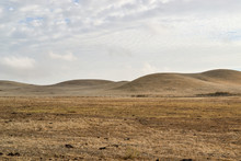 Dry Rolling Hills Of California