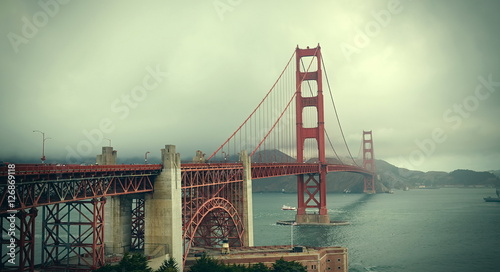 Most Golden Gate w San Francisco