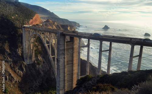 Bixby Bridge on California's Highway One