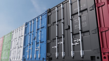 Colored Cargo Containers Again...