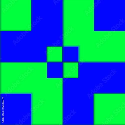 Sfondo Con Quadrati Verde E Blu Alternati Buy This Stock
