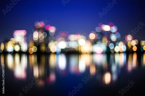 Fotografia 都市の夜景 ぼかし
