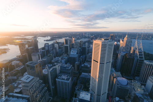 Photo  Sydney city skyline