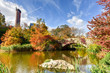 Central Park in Autumn in New York City