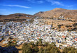 A view of the ancient city of Lindos. Rhodes Island, Greece