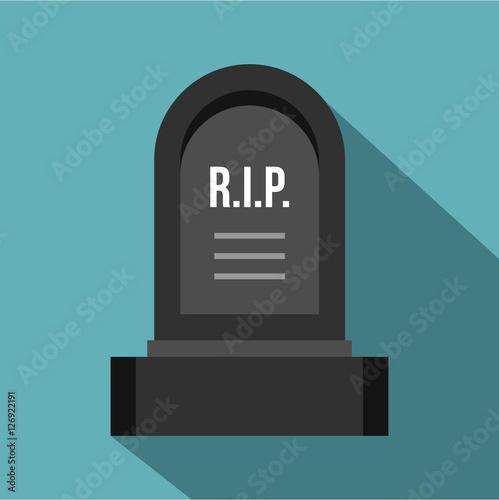 Headstone icon Fotobehang