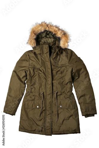 Fotografie, Tablou  Woman winter coat