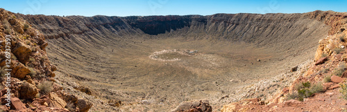 Photographie Meteor Crater panorama