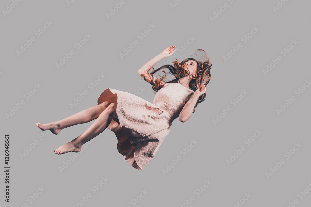 Fototapety, obrazy: Hovering beauty.