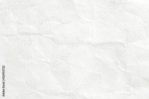 Fototapeta Crumpled white paper obraz