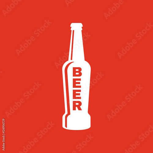 Foto  Bottle of beer icon