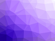 Abstract Purple White Gradient Low Polygon Shaped Background