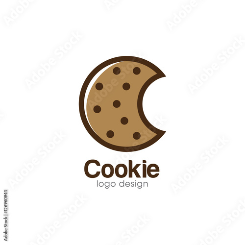 cookie creative concept logo design template buy this stock vector and explore similar vectors at adobe stock adobe stock creative concept logo design template