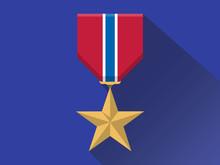 Gold Medal Veteran,hero,icon