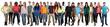 canvas print picture - Menschen lachen glücklich multikulturell People Gruppe junge Le
