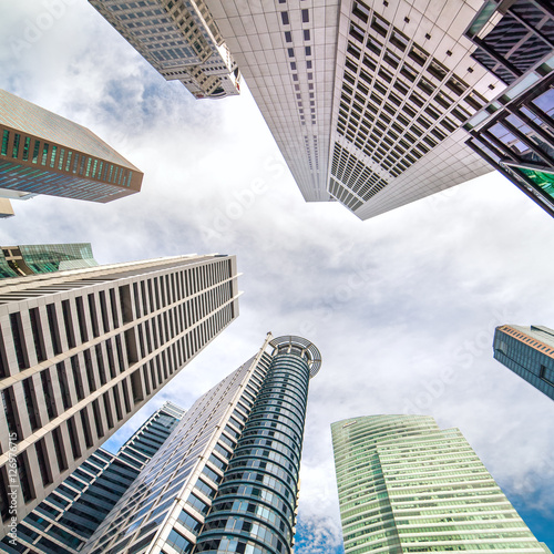 Photo  Skyscrapers of Central Business District of Singapore9