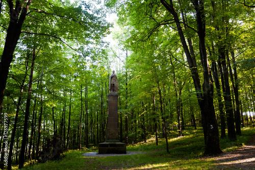 Famous monuments in Stramberk Sipka park © sitriel
