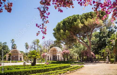 Deurstickers Palermo Palermo Botanical Gardens (Orto Botanico), Palermo, Sicily, Italy
